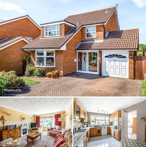 4 bedroom detached house for sale - Greenbirch Close, Kempshott, Basingstoke, Hampshire, RG22