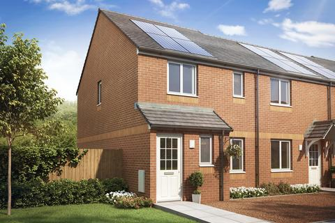 3 bedroom end of terrace house for sale - Plot 16, The Newmore at Agusta Park, Crompton Way, Newmoor KA12
