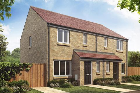 3 bedroom semi-detached house for sale - Plot 100a, The Hanbury at The Meadows, East Lane , End Farm, Northumberland NE61