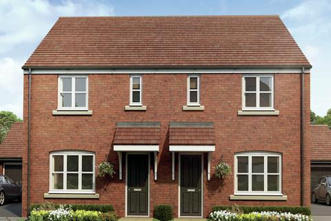 3 bedroom terraced house for sale - Plot 537, The Hanbury Special at The Oaks, Arkell Way B29