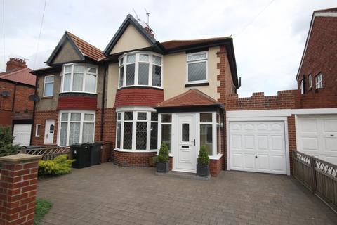 3 bedroom semi-detached house for sale - Westfield Avenue, West Monkseaton, Whitley Bay, NE25 8NW