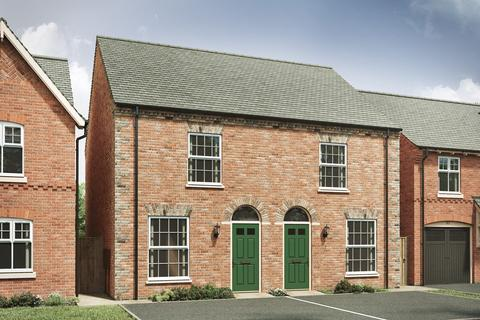 2 bedroom semi-detached house for sale - Plot 661, 654, The Dudley I at Western Gate, LE19