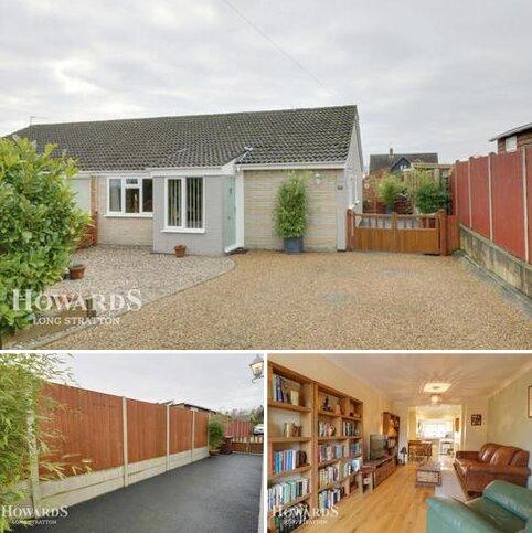 3 bedroom semi-detached bungalow for sale - Rectory Close, Norwich