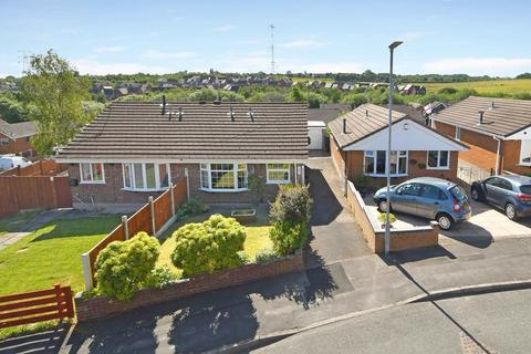 2 bedroom semi-detached bungalow for sale - Lynmouth Grove, Packmoor, Stoke-on-Trent