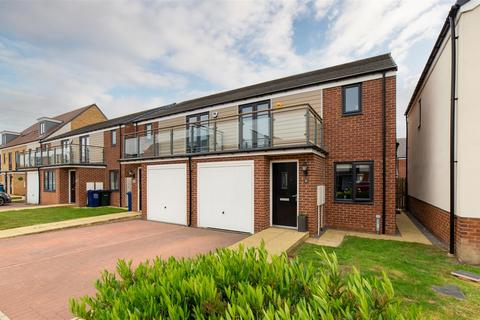 3 bedroom semi-detached house for sale - Greville Gardens, Great Park, Newcastle Upon Tyne