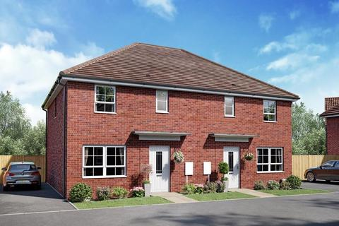 3 bedroom semi-detached house for sale - Plot 45, Hoy at Wayland Fields, Thetford Road, Watton, THETFORD IP25