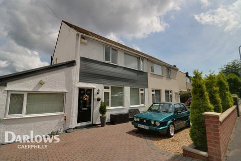 3 bedroom semi-detached house for sale - Heol Barri, Caerphilly