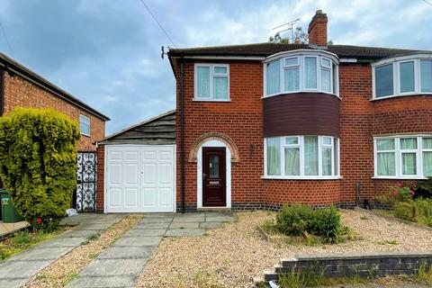 3 bedroom semi-detached house for sale - Guilford Drive, Wigston, LE18 1HF