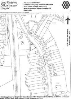 Land for sale - Ammanford Road, Llandybie, Ammanford, Carmarthenshire.