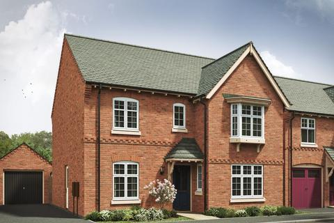 4 bedroom detached house for sale - Plot 77, 78, The Darlington 4th Edition at Hastings Park, Forest Road, Hugglescote LE67