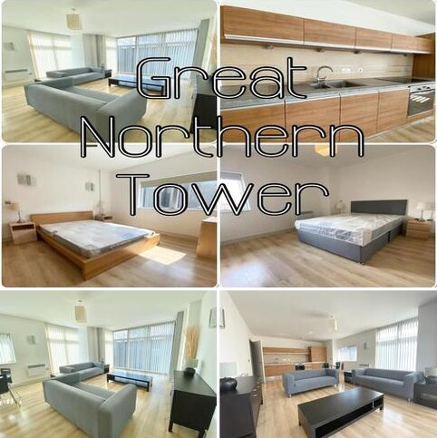 2 bedroom apartment to rent - Great Northern Tower, Watson Street, Manchester
