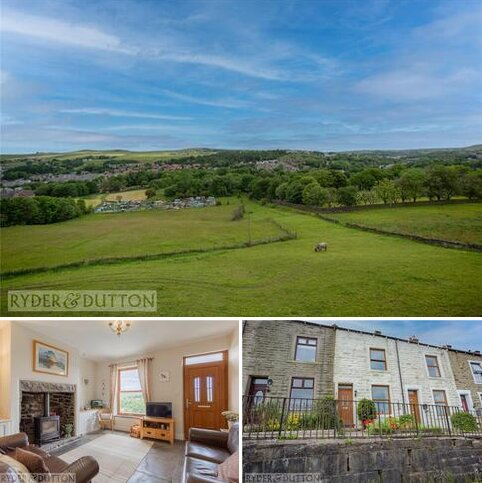 3 bedroom terraced house for sale - Prospect Terrace, Stacksteads, Bacup, Lancashire, OL13