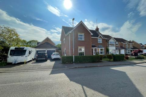 4 bedroom detached house for sale - Stourhead Drive, East Hunsbury, Northampton, NN4