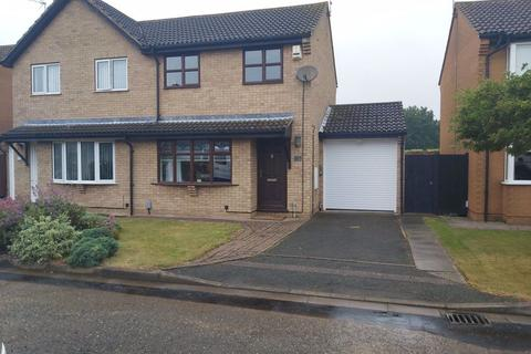 3 bedroom semi-detached house to rent - South Bretton