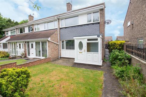3 bedroom end of terrace house for sale - Cedarway, Gateshead