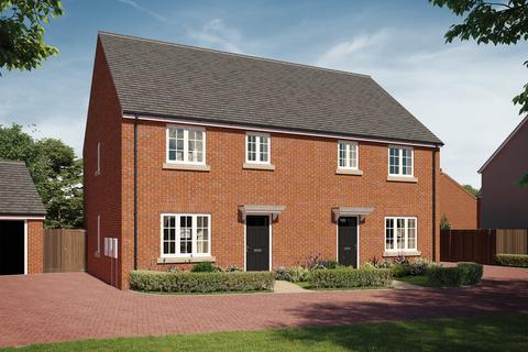 3 bedroom semi-detached house for sale - Plot 503, The Wendover at Hanwell View, Southam Road, Banbury OX16