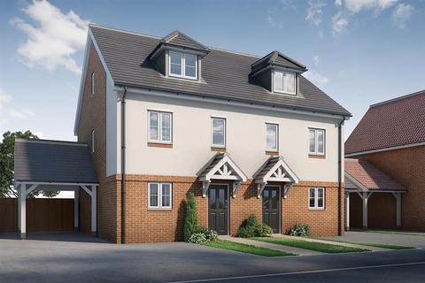 3 bedroom semi-detached house for sale - Carmack B, Fitzwarin Place, Singledge Lane, Whitfield, Dover, Kent