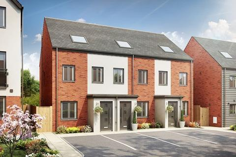 3 bedroom terraced house for sale - Plot 191, The Sutton at Oak Tree Gardens, Audley Avenue TF10