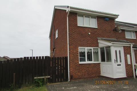 2 bedroom terraced house to rent - MIDDLEWOOD CLOSE, CLAVERING, Hartlepool, TS27 3QP