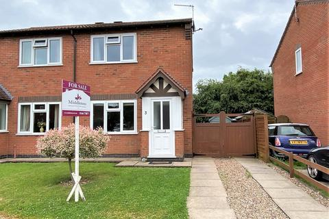 2 bedroom semi-detached house for sale - Lodge Close, Melton Mowbray