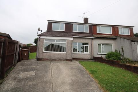 3 bedroom semi-detached house for sale - Elgar Close, Fairview, Blackwood, NP12