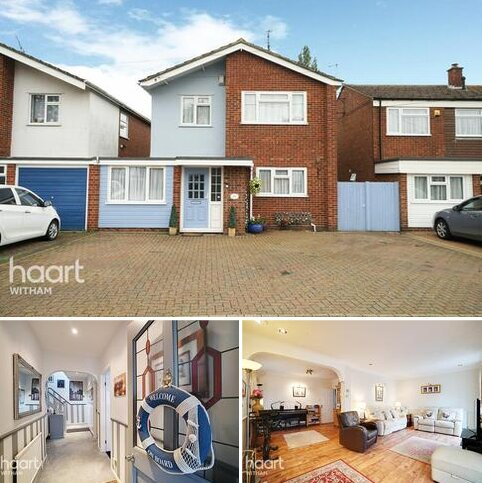 4 bedroom detached house for sale - Church Road, Witham