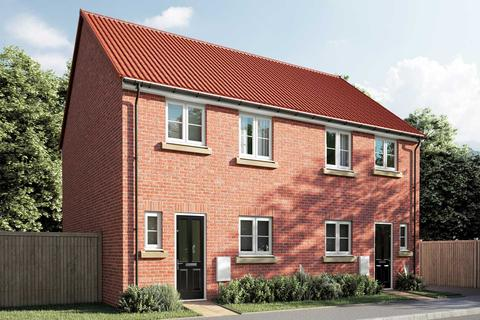 3 bedroom terraced house for sale - Plot 145, The Eveleigh at South Minster Pastures, Beverley, Yorkshire HU17