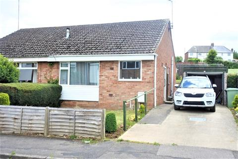 2 bedroom semi-detached bungalow for sale - Wroxall Drive, Grantham