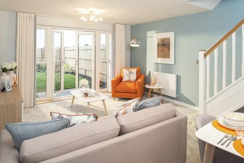 2 bedroom terraced house for sale - Plot 138, Richmond at Canal Quarter at Kingsbrook, Burcott Lane, Aylesbury, AYLESBURY HP22