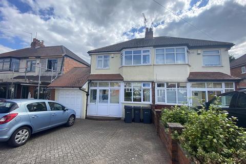 3 bedroom semi-detached house to rent - Weymoor Road, Harborne, Birmingham, B17 0RY