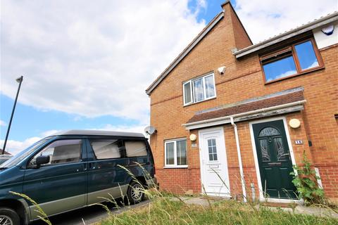 2 bedroom end of terrace house for sale - Gerrard Close, Bristol, BS4 1UH