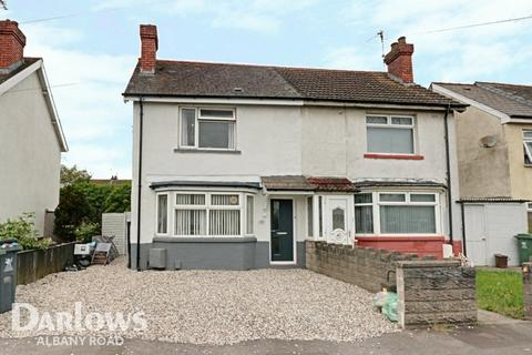 2 bedroom semi-detached house for sale - Madoc Road, Cardiff