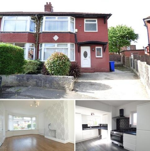 3 bedroom semi-detached house to rent - Delside Avenue, Moston, Manchester, M40