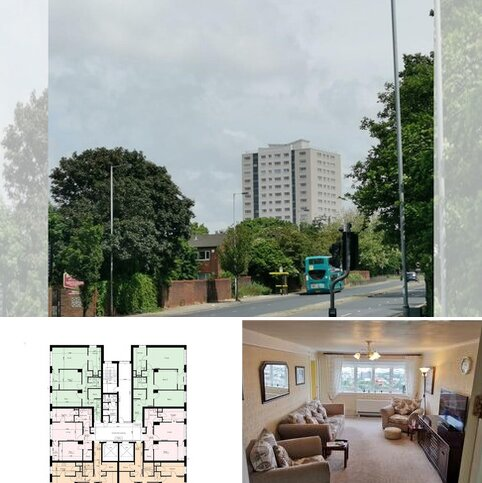 2 bedroom apartment for sale - Oxford House, Fernhill Road, Bootle, L20