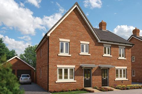 3 bedroom end of terrace house for sale - Plot The Magnolia 222, The Magnolia at Minerva Heights, Minerva Heights, Off Old Broyle Road, chichester PO19