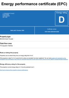2 bedroom terraced house to rent - Prospect Place, Doncaster
