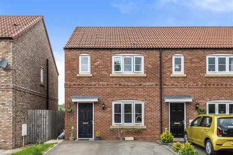 3 bedroom end of terrace house for sale - 12, Bursary Court, Pickering, North Yorkshire, YO18 8BF