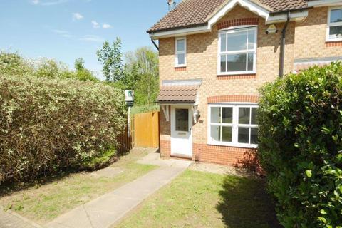 2 bedroom semi-detached house to rent - Hornbeam Close, Oadby Leics  LE2 4EQ