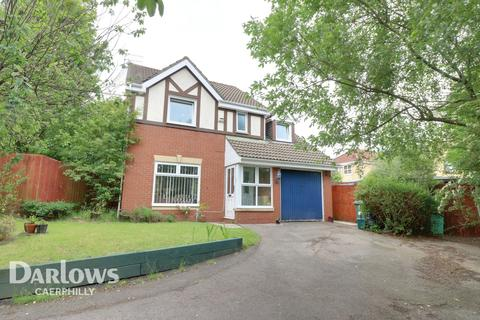 4 bedroom detached house for sale - Badham Close, Caerphilly