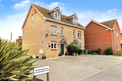 4 bedroom semi-detached house for sale - Holmes Way, Littlehampton