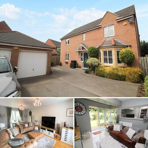 4 bedroom detached house for sale - Cloverfield, West Allotment