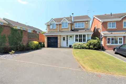 4 bedroom detached house for sale - Rawlings Court, Oadby, Leicester LE2