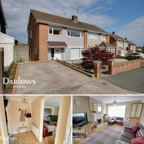 3 bedroom semi-detached house for sale - Menai Way, Cardiff