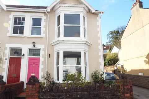 3 bedroom semi-detached house for sale - 52 Queens Road, Mumbles, Swansea, SA3 4AN