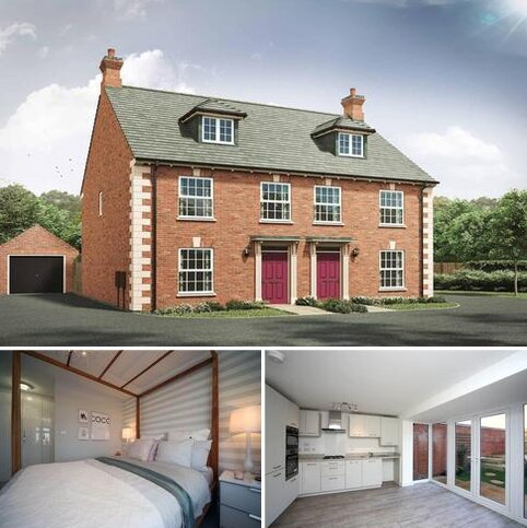 3 bedroom semi-detached house for sale - Plot 80, 81, The Thornton G at The Wheatfields, Long Street Road, Hanslope MK19
