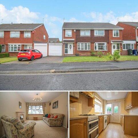 3 bedroom semi-detached house for sale - Hersham Close, Kingston Park, Newcastle Upon Tyne