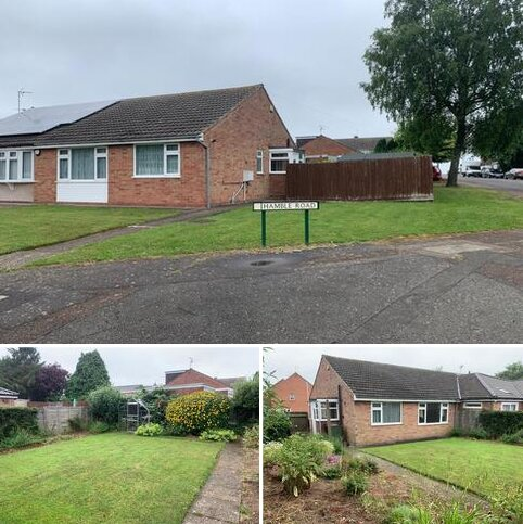 2 bedroom semi-detached bungalow to rent - 2 Bed Bungalow – Hamble Road, Oadby, Leicester, LE2 4NX. £850 PCM.