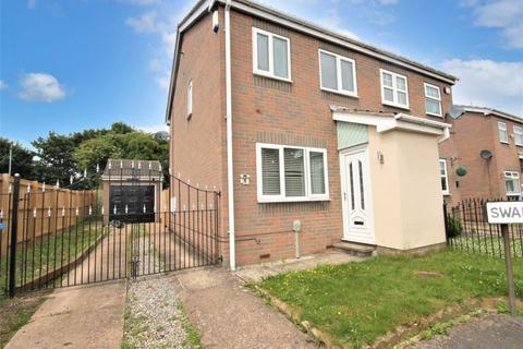 2 bedroom semi-detached house for sale - Swainby Close, Hull, HU8