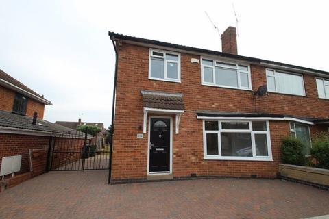 3 bedroom semi-detached house to rent - Rosemead Drive, Oadby, Leicester, LE2 5PQ