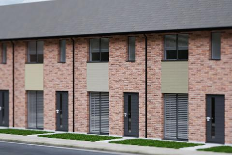 2 bedroom end of terrace house for sale - Plot 367, The Grove at Graven Hill, Austin Way OX25